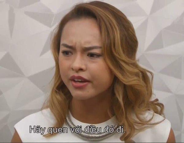 """Câu nói """"bất hủ"""" một thời của Mai Ngô ở Asia's Next Top Model và thái độ bất cần không kiêng nể ai đã thành thương hiệu."""