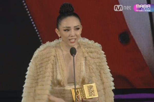 Không ai khác, Tóc Tiên chính là Nghệ sĩ châu Á xuất sắc nhất MAMA 2017 - Tin sao Viet - Tin tuc sao Viet - Scandal sao Viet - Tin tuc cua Sao - Tin cua Sao