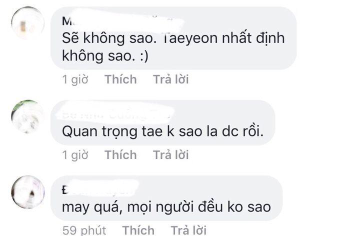 Fan Việt không khỏi lo lắng cho tình hình của trưởng nhóm SNSD.