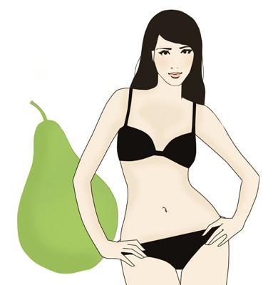 Dáng quả lê không phải đối mặt với nhiều nguy cơ bệnh tật như dáng quả táo.