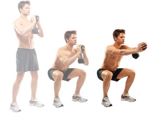 5 phút squat mỗi ngày, con trai sẽ có được cặp mông