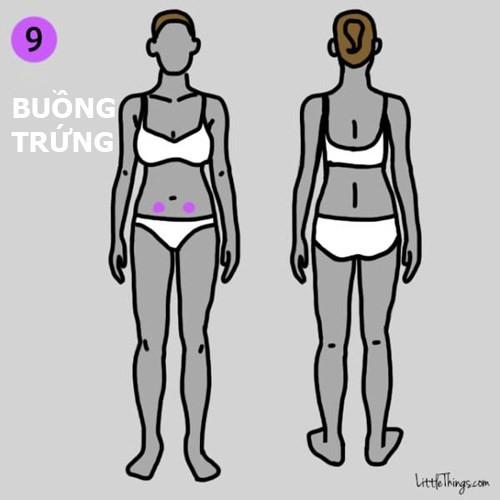 Nếu đau ở vùng bụng bạn nên đi khám bệnh liên quan về buồng trứng