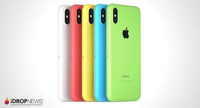 Màu sắc vô cùng đa dạng và bắt mắt là điểm nổi trội của bộ iPhone XC này.