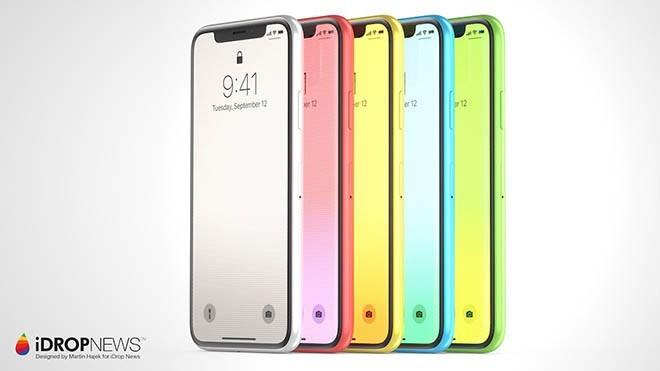 Mẫu iPhone XC được Martin Hajek thiết kế.