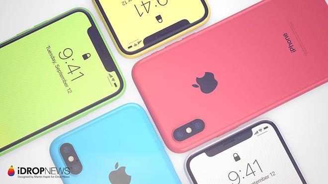 Iphone XC sử dụng lớp vỏ nhựa nên giảm chi phí giá thành và hạn chế nguy cơ tốn tiền thay vỏ kính.