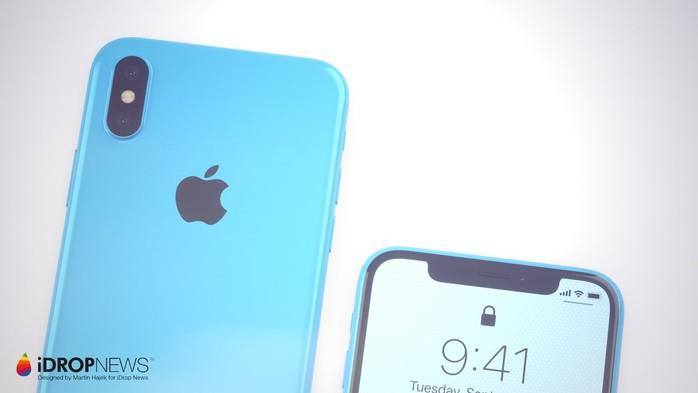 Giữ nguyên thiết kế tai thỏ và camera kép từ iPhone X.