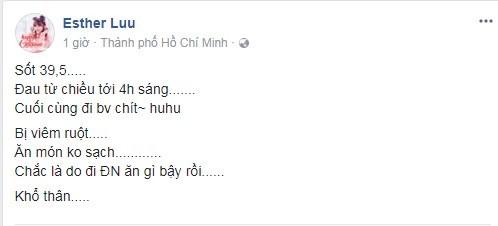 Trước đó, Hari Won đã đăng trạng thái trên trang cá nhânthan nhức đầu, mắc ói và chóng mặt. - Tin sao Viet - Tin tuc sao Viet - Scandal sao Viet - Tin tuc cua Sao - Tin cua Sao
