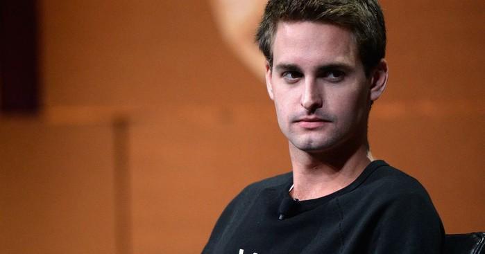 """Evan Spiegel -CEO Snapchat - là một """"tỷ phú bỏ học"""" nổi tiếng thế giới."""