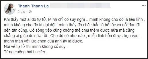 """Người mẫu Fung La dành nhiều lời chia sẻ tới cái chết của Jonghyun và cho biết cô từng """"cuồng"""" một ca khúc của anh. - Tin sao Viet - Tin tuc sao Viet - Scandal sao Viet - Tin tuc cua Sao - Tin cua Sao"""