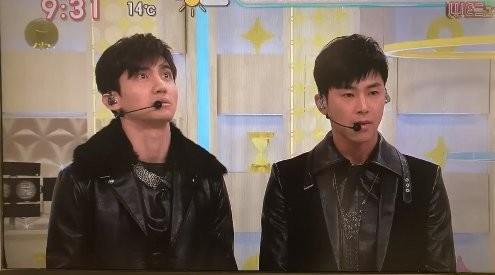 Yunho và Changmin đều không giấu được sự đau buồn, khi mất đi người bạn đầy thân thiết trong SM.