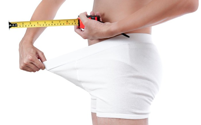 Phát hiện thực tế: Hầu hết đàn ông đang tự cường điệu hóa về kích thước