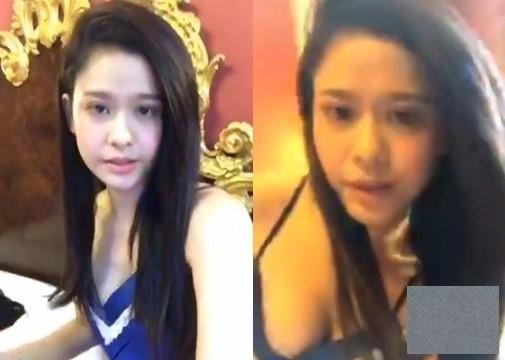 Livestream trong phòng ngủ và diện trang phục ở nhà, Trương Quỳnh Anh bị lộ vòng 1