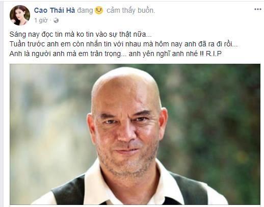 Nữ diễn viên Cao Thái Hàchia sẻmất mát và trân trọng người anh đạo diễn. - Tin sao Viet - Tin tuc sao Viet - Scandal sao Viet - Tin tuc cua Sao - Tin cua Sao