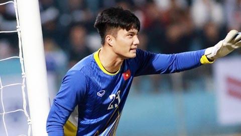 Văn Hoàng là sự lựa chọn thứ 2 cho vị trí thủ môn của U23 Việt Nam.