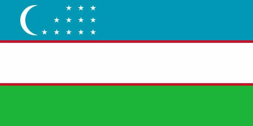 Bạn biết gì về quốc kỳ của Uzbekistan?