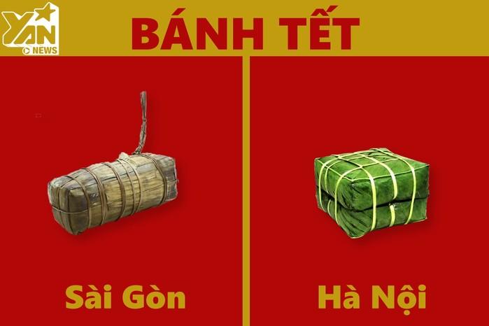 Sự khác biệt giữa Hà Nội và Sài Gòn những ngày Tết