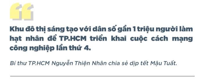 TP.HCM với tham vọng kết hợp 3 quận thành trung tâm đô thị sáng tạo