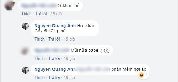 Một người bạn nhanh chóng phát hiện điểm khác lạ trên mặt Quang Anh. - Tin sao Viet - Tin tuc sao Viet - Scandal sao Viet - Tin tuc cua Sao - Tin cua Sao