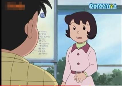 Sự thật về khuôn mặt của mẹ Nobita sau khi bỏ kính
