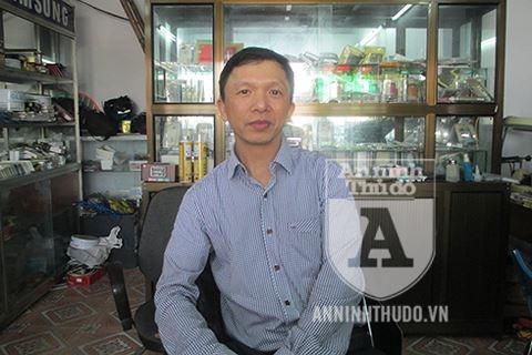 Anh Hồ Sỹ Bình chia sẻ với PV Báo ANTĐ