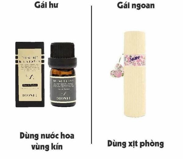 Gái hư là khi biết dùng nước hoa vùng kín