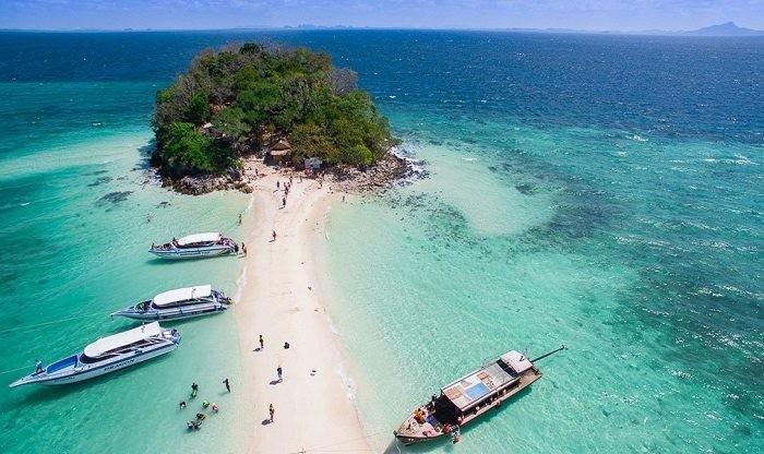 Những bãi biển vô cùng xinh đẹp ở Thái Lan.