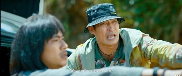 Huy Khánh trong vai Đức, một chàng trai mù.