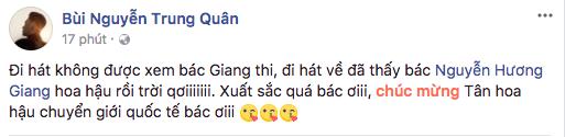 Trung Quân Idol rất vui khi người chị của mình đăng quang Hoa hậu. - Tin sao Viet - Tin tuc sao Viet - Scandal sao Viet - Tin tuc cua Sao - Tin cua Sao
