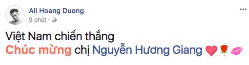 Ali Hoàng Dương - Bạn thân của người đẹp gửi lời chúc mừng đến cô. - Tin sao Viet - Tin tuc sao Viet - Scandal sao Viet - Tin tuc cua Sao - Tin cua Sao