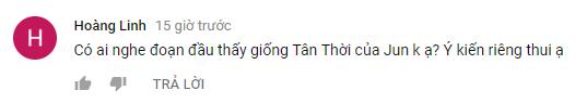 Một số bình luận của cư dân mạng cũng thắc mắc về sự giống nhau giữa hai bài hát Take it easy và Tân thời.