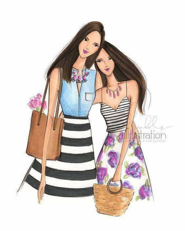 Mẹ và con gái chính là những người tình ngàn kiếp thực sự của nhau.