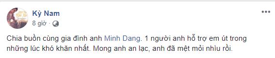 Nam ca sĩ Hoàng Kỳ Nam.