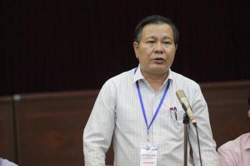"""PGĐ Sở GD&ĐT Hà Nội ông Lê Ngọc Quang cho biết đề thi bị """"lọt"""" chứ không bị """"lộ"""""""