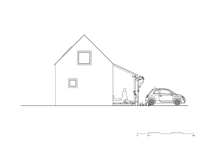 Mẫu nhà cấp 4 nông thôn đơn giản với chi phí thấp cho những gia đình trẻ