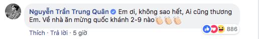 Nguyễn Trần Trung Quân cũng khích lệ tinh thần của Quang Hải. - Tin sao Viet - Tin tuc sao Viet - Scandal sao Viet - Tin tuc cua Sao - Tin cua Sao