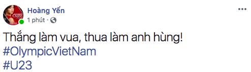 Hoàng Yến Chibi dù đang quay phim nhưng liên tục cổ vũ các chàng trai. - Tin sao Viet - Tin tuc sao Viet - Scandal sao Viet - Tin tuc cua Sao - Tin cua Sao