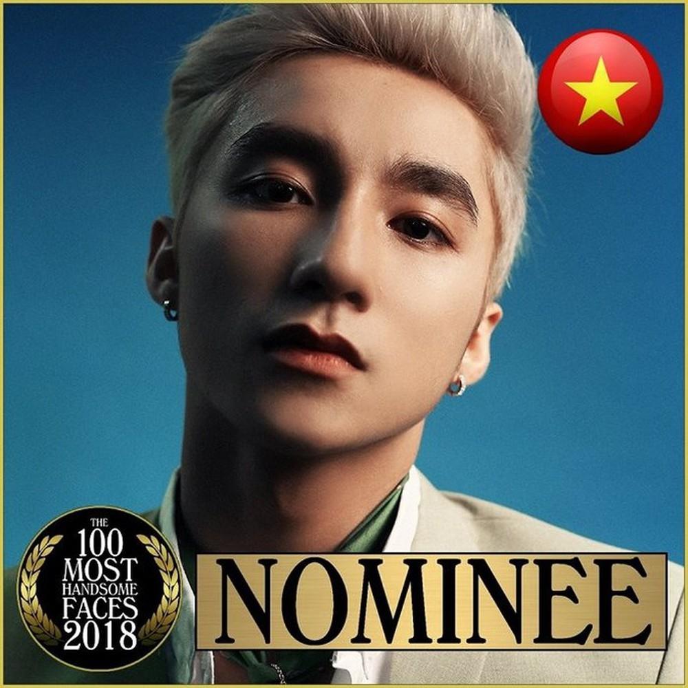 Sơn Tùng khiến ngườihâm mộ kinh ngạc khi xuất hiện chễm chệ trong đề cử trong Top 100 gương mặt điển trai nhất thế giới năm 2018.