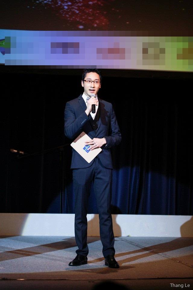 Việt Hùng phát biểu tại Hộị nghị khoa học vi sinh hàng đầu thế giới - ISME17 - Ảnh: Internet