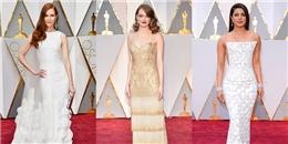 10 bộ váy lộng lẫy nhất Oscar 2017