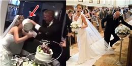 """Cười đau ruột với những pha """"vồ ếch"""" khó tin trong đám cưới"""