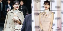 """yan.vn - tin sao, ngôi sao - Diện đồ """"giá bèo"""", Suzy vẫn thừa sức tỏa sáng tại tuần lễ thời trang"""