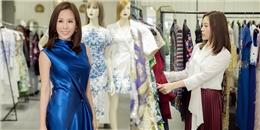 Hoa hậu Thu Hoài tất bật thử đồ đi liên hoan phim Malaysia