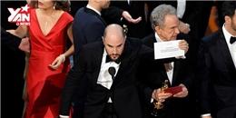 Trọn vẹn màn trao giải nhầm gây sốc nhất lịch sử Oscar