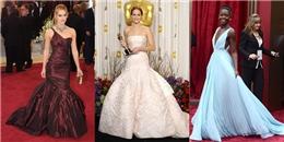 10 bộ váy đẹp nhất thảm đỏ trong lịch sử giải Oscar