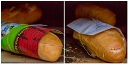Bạn có thể bị phạt rất nặng nếu sử dụng giấy báo để gói bánh mì đấy!