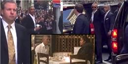 Xúc động hình ảnh ông Obama được dân Mỹ chào đón nhiệt tình trên phố