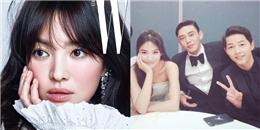 """yan.vn - tin sao, ngôi sao - Song Hye Kyo chia sẻ về tình bạn """"tay ba"""" với hai mĩ nam hàng đầu"""