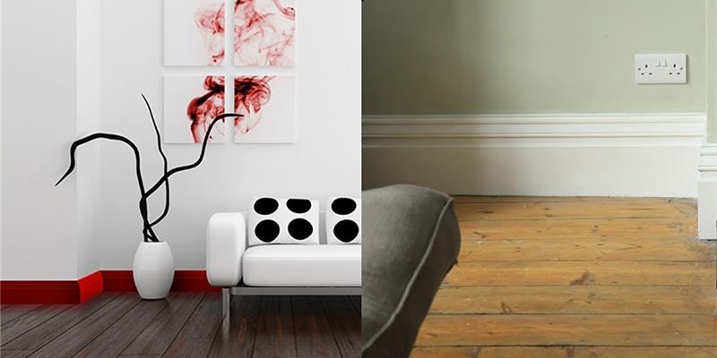 Vì sao chân tường luôn được ốp gạch khác màu với phần còn lại?