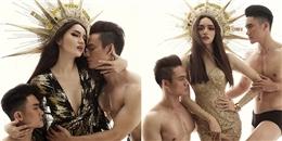 yan.vn - tin sao, ngôi sao - Hương Giang Idol hóa nữ thần mặt trời bên trai đẹp