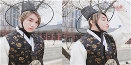 yan.vn - tin sao, ngôi sao - Sơn Tùng M-TP đẹp hút hồn khi diện trang phục truyền thống Hàn Quốc